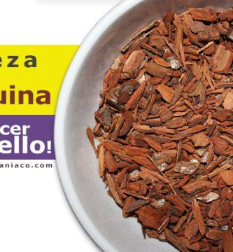 para que sirve la quina o quinina en el cabello
