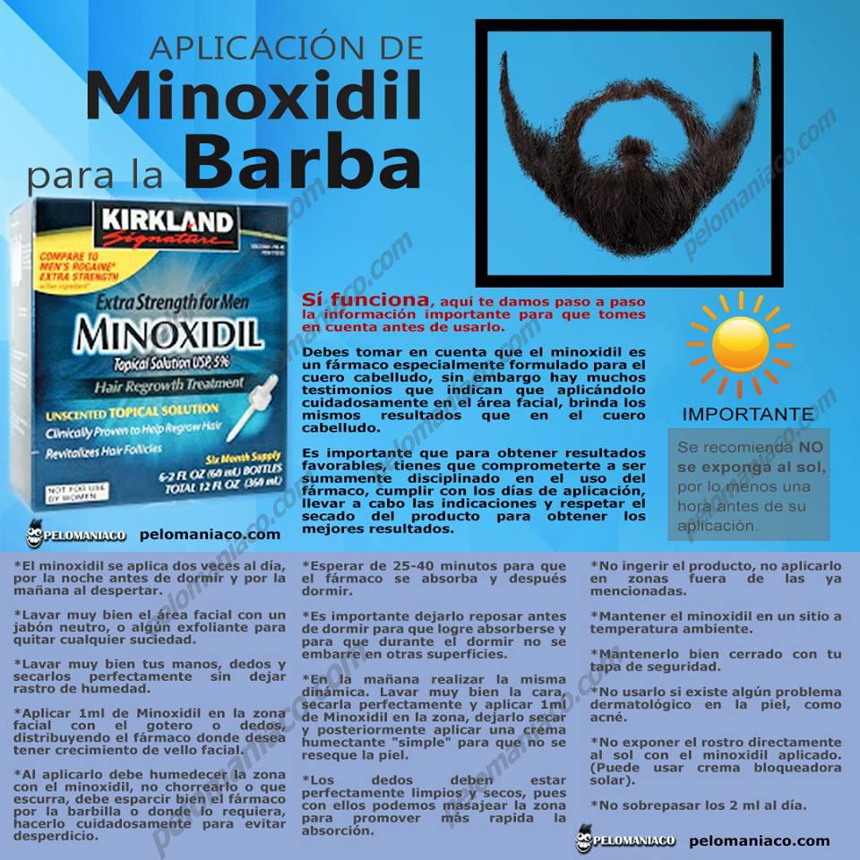 minoxidil barba minoxidil kirkland tampico madero alopecia calvicie tratamientos