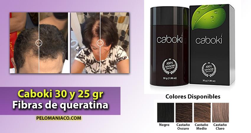 Caboki Fibras capilares de queratina para perdida de cabello1