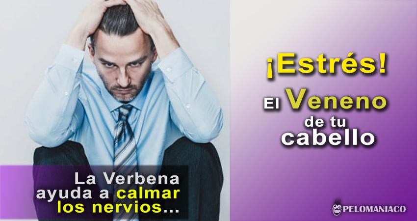 La verbena ayuda a calmar los nervios