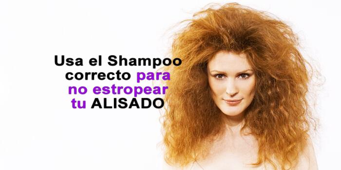 Shampoo post alisado sin sal recomendado