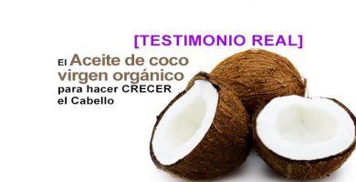 aceite de coco virgen para el cabello TESTIMONIO REAL comprobado 1