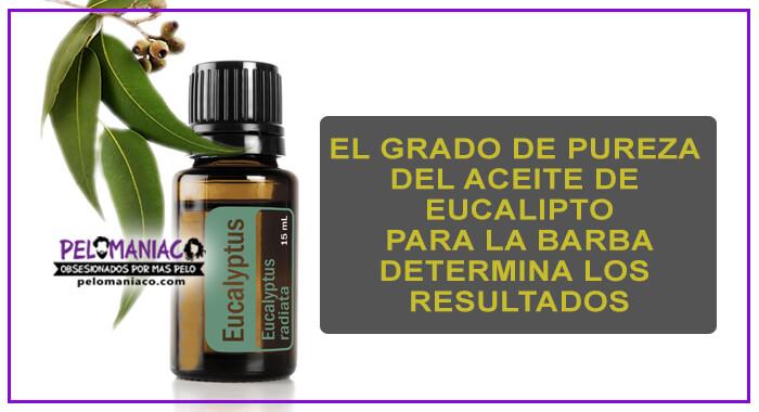 aceite de eucalipto para la barba resultados