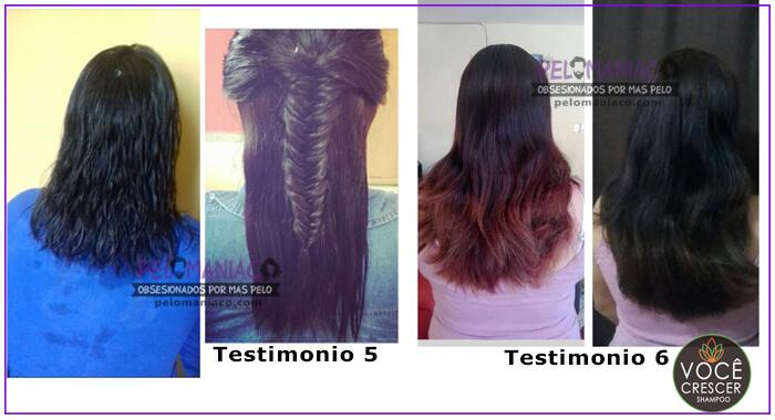 Testimonio Shampoo Voce Crescer pelomaniaco 3