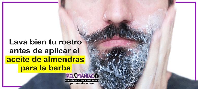 aceite de almendras para la barba beneficios como usarlo