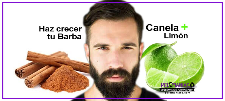 canela y limon para la barba funciona para hacer crecer barba
