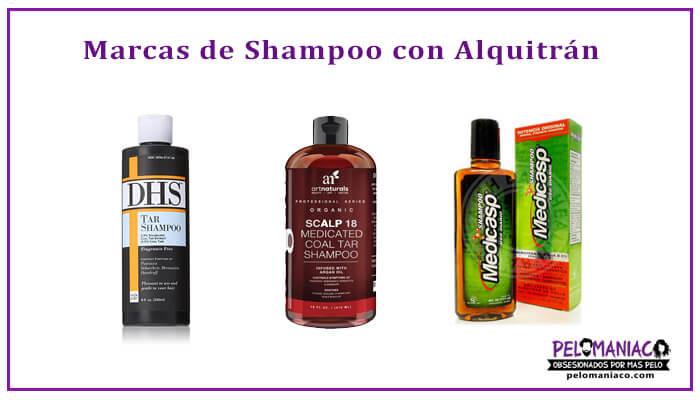 Marcas de Shampoo de Alquitran de Hulla