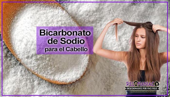 Para que sirve el bicarbonato de sodio en el cabello