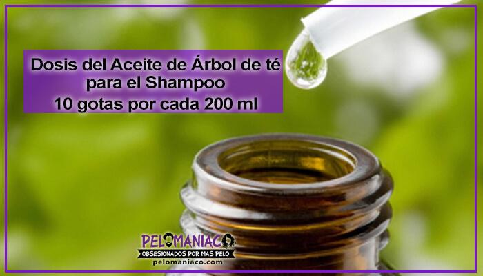 como usar el aceite de arbol de te para el cabello