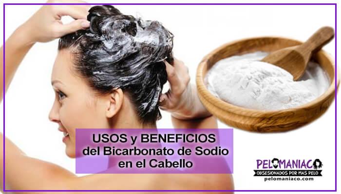 Para que sirve el Bicarbonato de sodio en el cabello Usos y Beneficios