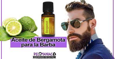 aceite de bergamota para la barba para que sirve