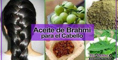 aceite de brahmi para el cabello