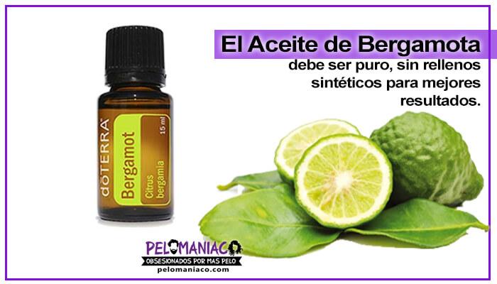 aceite esencial de bergamota para la barba doterra