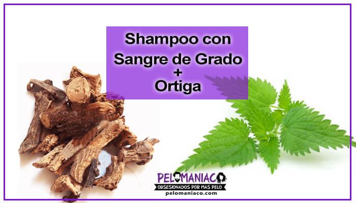 como preparar shampoo sangre de grado y ortiga