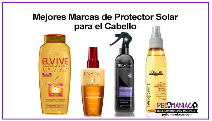 mejores marcas recomendadas de protector solar para el cabello