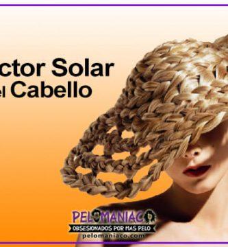 protector solar para el cabello