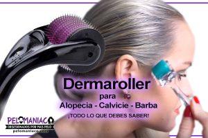 dermaroller funciona alopecia calvicie barba
