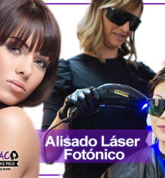 alisado láser fotónico sin formol alaciado de cabello