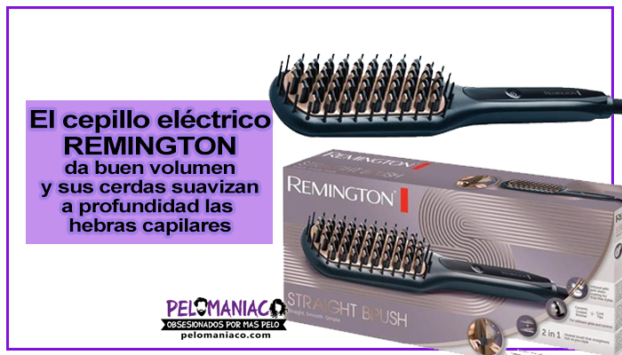 cepillo electrico alisador remington