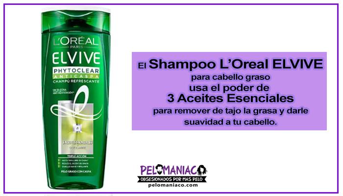 shampoo elvive para cabello graso