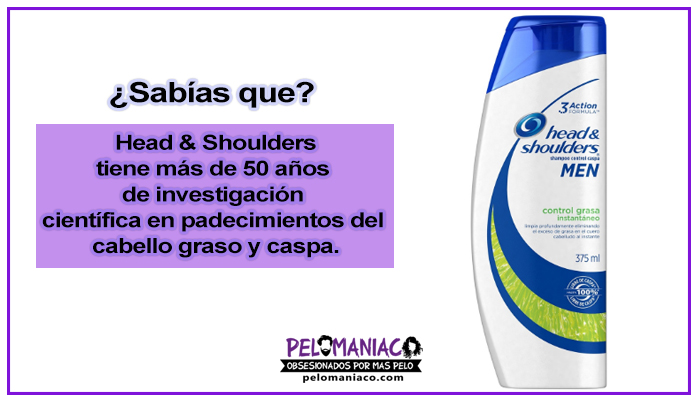 shampoo head & shoulders para cabello graso