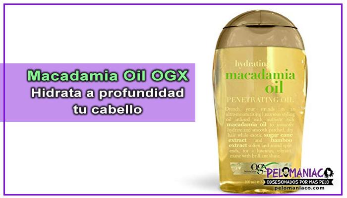 macadamia oil para el cabello