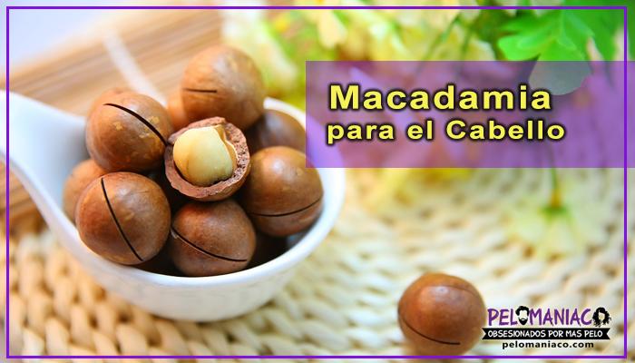 macadamia para el cabello