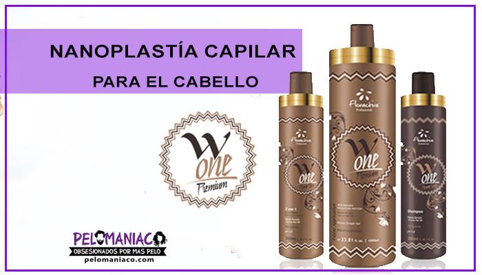Nanoplastia capilar floractive alisado brasileño sin formol para el cabello