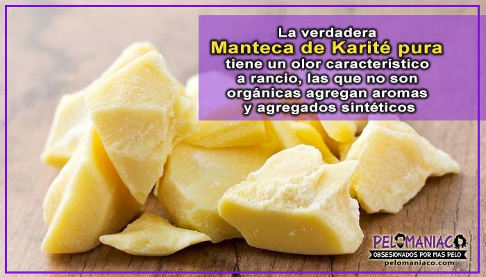 manteca de karité organica para el pelo