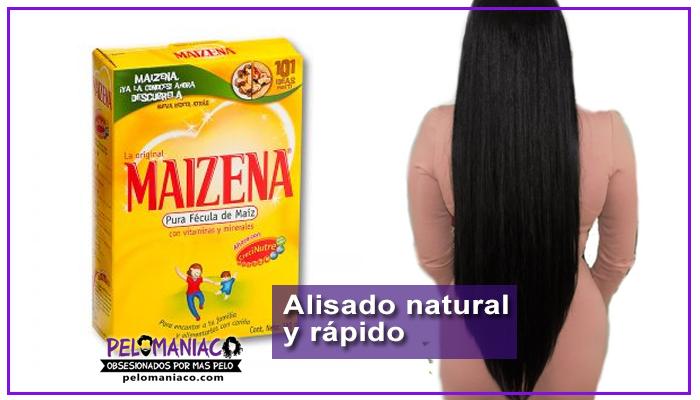 maizena para alisar el cabello 4 formas de uso