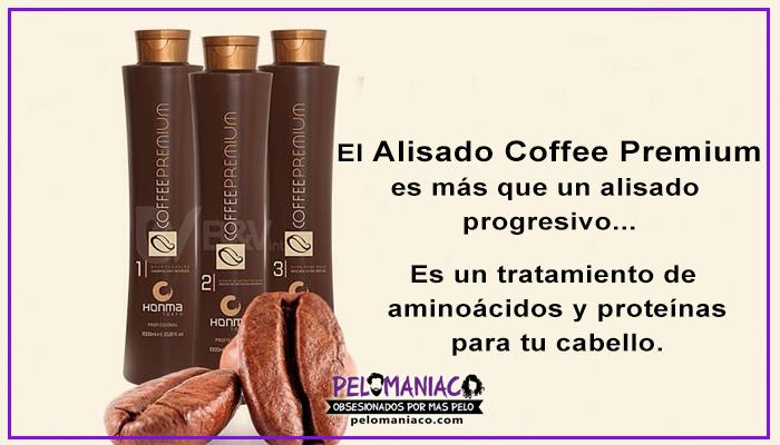 alisado coffee premium alisado progresivo