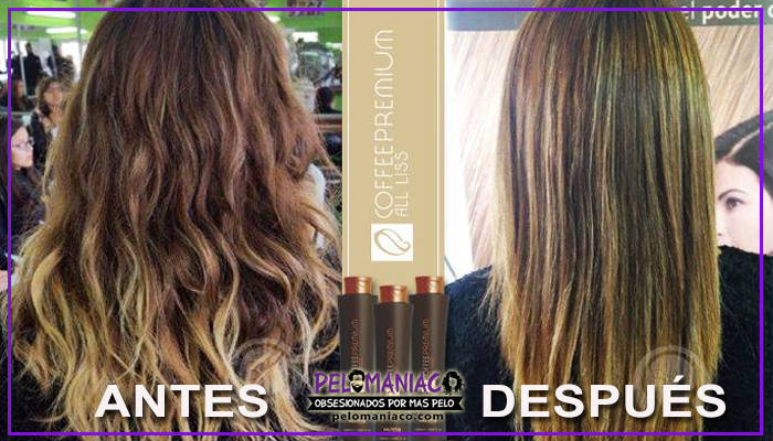 alisado coffee premium antes y despues 3