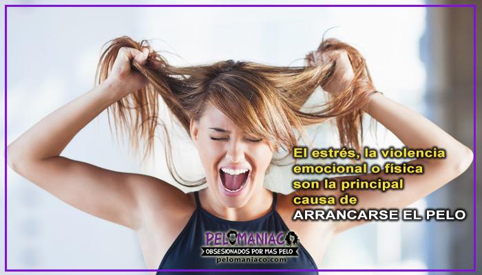 tricotilomania arrancarse el pelo a puños por estres