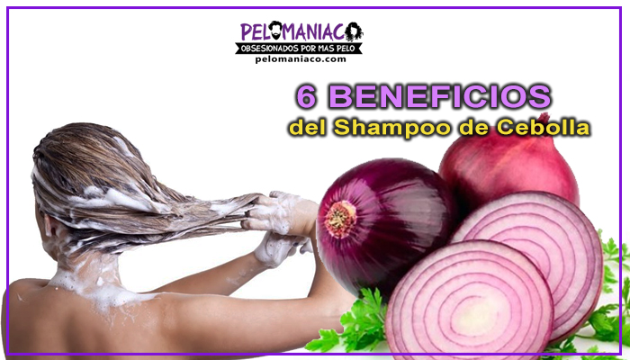 beneficios del shampoo de cebolla