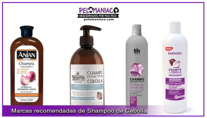 marcas recomendadas de shampoo de cebolla