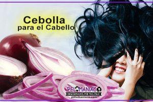 cebolla para el cabello