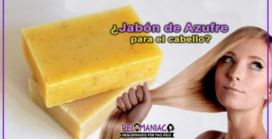 jabón de azufre para el cabello