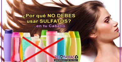 Por que no debes usar sulfatos en tus productos capilares