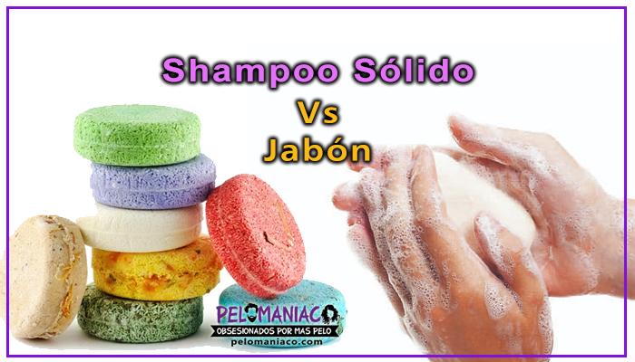 diferencia entre shampoo solido y jabon