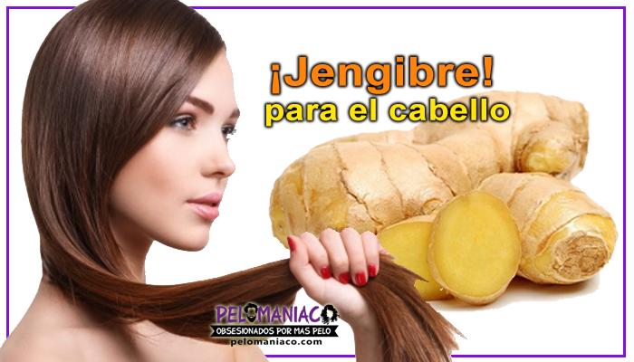 jengibre para el cabello