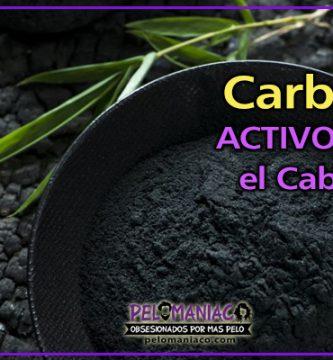 carbon activo para el cabello
