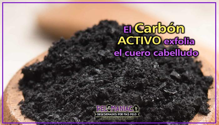 propiedades del carbon activo para el cabello