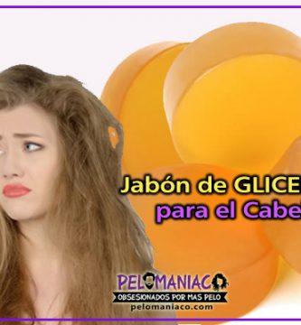 jabon de glicerina para el pelo