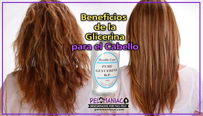 para que sirve la glicerina para el cabello