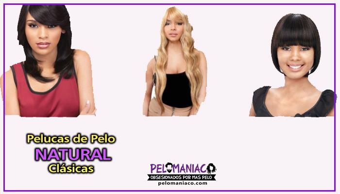 pelucas pelo natural clasicas