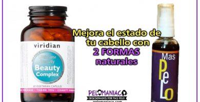 vitaminas para el cabello y locion capilar