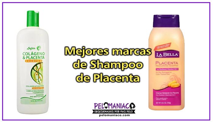 marcas de shampoo de placenta