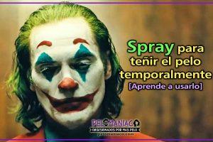 spray para teñir el pelo por un día