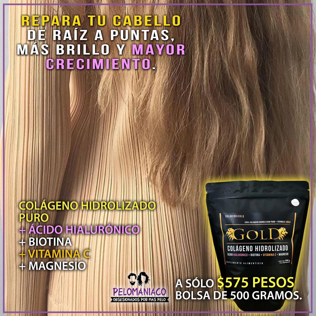 colágeno para el cabello
