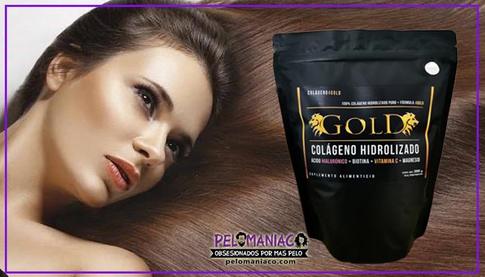 colageno hidrolizado para el cabello Colageno 4 Gold donde comprar